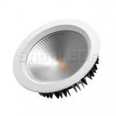Светодиодный светильник LTD-220WH-FROST-30W Day White 110deg