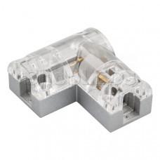 Соединитель угловой ARL-CLEAR-Mini-90 (16x8mm)