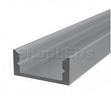 Профиль накладной алюминиевый 1607-2 2 м REXANT
