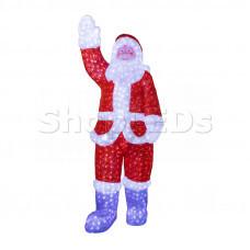 """Акриловая светодиодная фигура """"Санта Клаус"""" 210см, IP44 понижающий трансформатор в комплекте, NEON-NIGHT"""