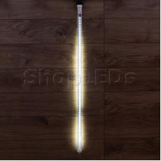 Сосулька светодидная 100 см, 220V, e27, двухсторонняя, 60х2 диодов, цвет диодов белый