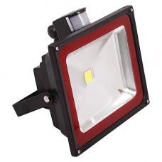 Прожектор с датчиком движения холодный 50W 285*310*145 WH